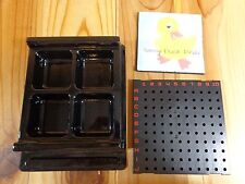 U Build Battleship ONE BASE AND PEG TRAY Replacement Parts 2010 Milton Bradley