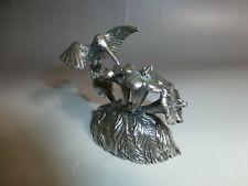 NEIMAN MARCUS Metal Hummingbird Mechanical Wind Up Music Box (Watch The Video)