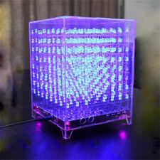 SainSmart DIY 3D Light Cube Kit 8x8x8 Red Green Blue LED Music Spectrum