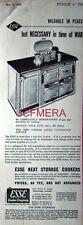 'ESSE' (Aga-Type) Cooker Range; Original 1940 Advert - WW2 Art Deco Print AD.