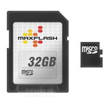Carte Micro SD 32go Class 4 + adaptateur SD - Carte mémoire Maxflash