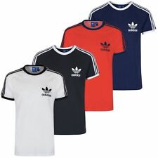 adidas Cotton Patternless Basic T-Shirts for Men