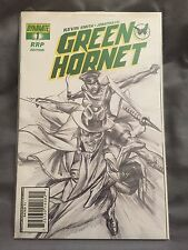 KEVIN SMITH GREEN HORNET #1 1:200 Alex Ross Sketch Variant HTF NM 9.2 Dynamite
