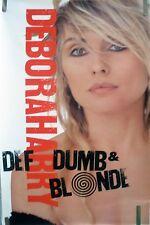 Rare Blondie Def Dumb & Blonde 1989 Vintage Orig Music Record Store Promo Poster