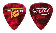 Terri Clark Signature Red Pearl Guitar Pick - 2016 Tour