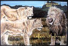 TOGO LION STAMPS SOUVENIR SHEET 2001 mnh WILDCAT WILDLIFE WILD ANIMALS OF AFRICA