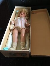 Shirley Temple 17 in composition excellent with box doll