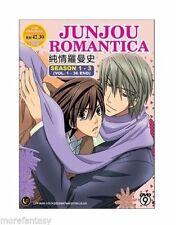 DVD Junjou Junjo Romantica Season 1-3