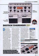 DIGITECH TIMEBENDERoriginal press clipping20x28cm