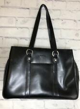 Franklin Covey Black Computer Lap Top Bag Purse Luggage Brief Case