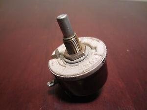 Ohmite 500 Ohm 22 Amp 300V 7308 Séries 2.5A Potentiomètre