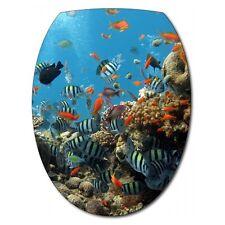 Sticker Abattant de WC Aquarium 037