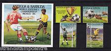 Antigua & Barbuda - 1986 World Cup Football - U/M - SG876-9 + MS880
