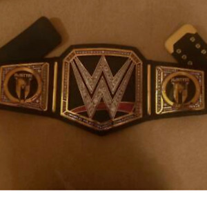 WWE  World heavyweight  Championship Belt Black