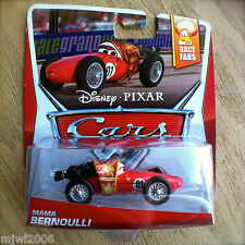 Disney PIXAR Cars MAMA BERNOULLI NEW! 2014 RACE FANS 8/9 theme diecast 01 F1