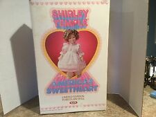 Shirley Temple American Sweetheart Porcelain Doll Limited Edition 1983 NIB