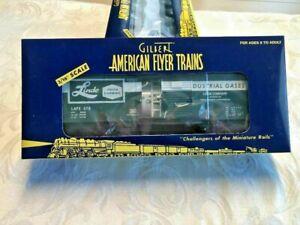 American Flyer by LTI #48231 TTOS 2003 Linde Gas Box / Tank Car! L@@K!
