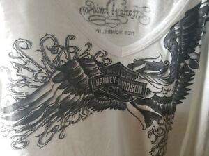 Harley Davidson dealership Women's white Long Sleeve