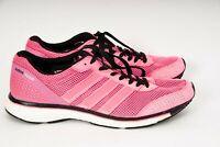 Adidas Originals Adios Boost Womens Running Trainers Sneakers US 8.5 UK 5.5 Pink