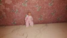 Nostalgie-Caco-Puppe-Biegepuppe-Baby-Puppenhaus-Puppenstube-doll-poupee