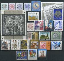 Estonia 1998 Complete Year Set MNH**