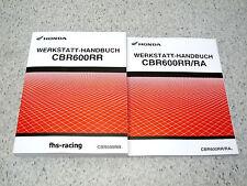 HONDA CBR 600 RR , PC 40 , Werkstatthandbuch ab 2007 + Zusatzhandbuch ab 2009 !
