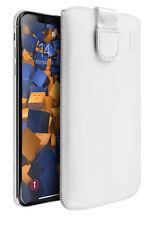 Mumbi Ledertasche für Apple iPhone 8 7 hülle Leder Tasche Etui Wallet Case Cover