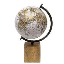 Globus groß Weltkugel Antik Stil Wandkarte Welt Weltkarte Historisch Vintage