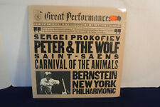 Bernstein, Peter & The Wolf/Carnival Of The Animals, CBS MY 37765, 1982 SEALED
