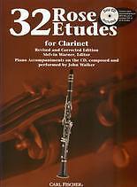ROSE ETUDES 32 Clarinet Book & CD