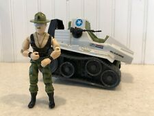 GI Joe 1986 Triple T Tank w/ Sgt Slaughter Figure Vintage Hasbro
