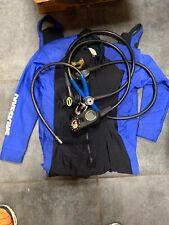 Oceanic Bioflex Flex Scuba Diving Vest Size M-L with regulator