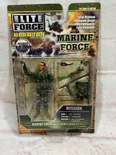 BBi Elite Force 1:18 Scale Marine Force Tin-colonel No.21681