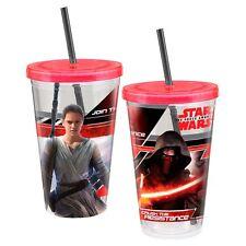 99514 Star Wars Awaken 18 oz Acrylic Travel Cup w/straw Movie Cup  Yoda Force