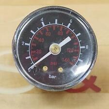 0-10 Bar, 0-140 Psi Pressure Gauge - New