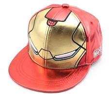 Unisex Marvel Avengers Hero Iron Man Snapback Baseball Cap Kids Fashion Hat