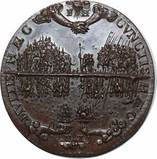 O974 French Renaissance Medaille 1588 Henri III 1574-1589 ->Faire offre