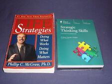 Teaching Co Great Courses DVDs         STRATEGIC THINKING SKILLS     new + BONUS