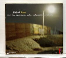 LAURENCE EQUILBEY - MACHUEL Psalm NAIVE CD NM