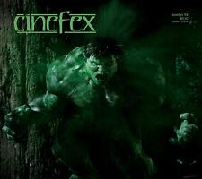 CINEFEX #94: THE HULK Ang Lee w/ ILM FX Dennis Muren X-2: X-MEN United THE CORE