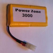 9.6 V 3000 mAh Ni-MH RC (4x4) Recargable AA Batería Power Pack verticalmente Libre P&P