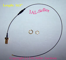 """14.5"""" IPX / IPEX (U.FL) to RP-SMA Female Pigtail Cable for Wifi Wireless Antenna"""