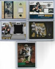 Lot of 11 different Drew Brees cards - 2001-2015 - 11 cards total - ROOKIE