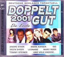 Double bien 2001 la première DOUBLE CD