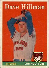 1958 Topps 41 Dave Hillman EX-MT #D317637