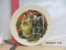 Wedgwood Plate - The Remarkable World Of Charles Dickens -Barkis & Peggotty