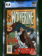 WOLVERINE 80 CGC 9.4 NM Near Mint Newsstand Edition 1st Test Tube Appearance NYX
