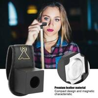 Magnetic Billiard Chalk Holder with Belt Clip Portable Fix Cue Chalk Bag New