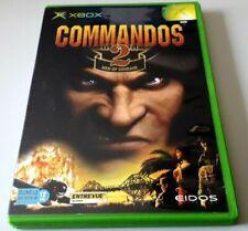 "Jeu XBOX ""Commandos 2 : Men of Courage"" complet en boîte (n°5733)"