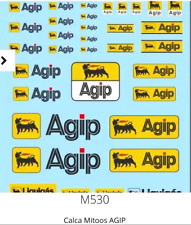 Mitoos M530 Agip Decal Water Slides 1:32 Scale